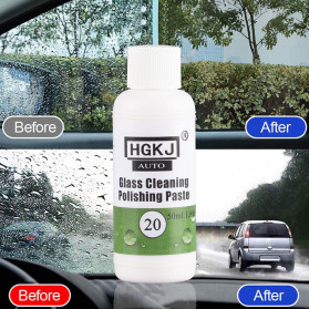 Aksesoris Mobil Lainnya - HGKJ Cairan Glass Cleaning Polishing Paste Hydrophobic Coating 50ml - HGKJ-20