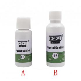 HGKJ Cairan Protective Crystal Coating Liquid Car Polish 50ml - HGKJ-15 - 4