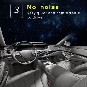 HAOSJ Lampu Mobil Headlight LED H4 CSP - K1 - Silver - 10
