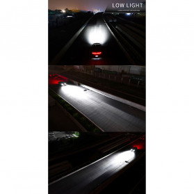 HAOSJ Lampu Mobil Headlight LED H4 CSP - K1 - Silver - 8