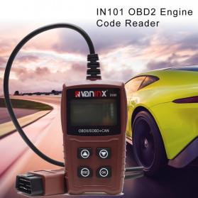 VANINX Alat OBD2 Pembaca Kode Diagnostik Mobil Otomotif Car Engine Scanner Tool - IN101 - Brown - 3