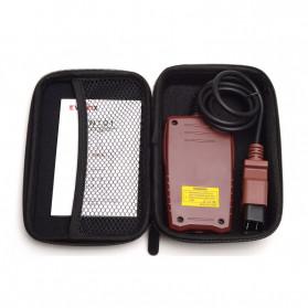 VANINX Alat OBD2 Pembaca Kode Diagnostik Mobil Otomotif Car Engine Scanner Tool - IN101 - Brown - 4