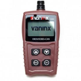 VANINX Alat OBD2 Pembaca Kode Diagnostik Mobil Otomotif Car Engine Scanner Tool - IN101 - Brown - 6