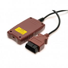 VANINX Alat OBD2 Pembaca Kode Diagnostik Mobil Otomotif Car Engine Scanner Tool - IN101 - Brown - 7