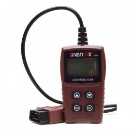 VANINX Alat OBD2 Pembaca Kode Diagnostik Mobil Otomotif Car Engine Scanner Tool - IN101 - Brown - 8