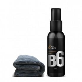 Six Hope Car Windshield Coating Hydrophobic Liquid Anti Fogging Agent Spray 50ml - B6 - Black - 5