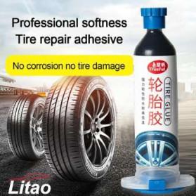 Litao Lem Tambal Ban Mobil Car Tire Glue Repair Adhesive Filling 30g - Lit30