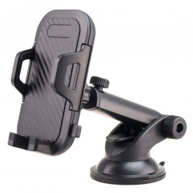 MOSOTECH Universal Smartphone Car Holder Telescopic - ZJ-EU01 - Black