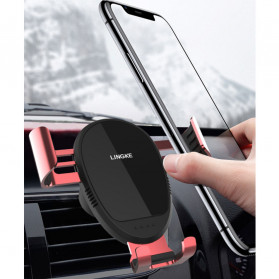 Lingke Smartphone Car Holder Mobil Air Vent - CPH360 - Black