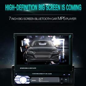 VODOOL Tape Audio Mobil MP5 Media Player Monitor LCD 7 Inch FM Radio Bluetooth 4.0 - SMW9601 - Black - 3