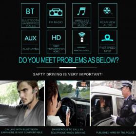 VODOOL Tape Audio Mobil MP5 Media Player Monitor LCD 7 Inch FM Radio Bluetooth 4.0 - SMW9601 - Black - 4