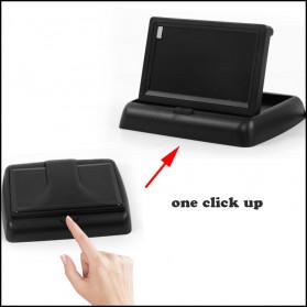 AUTONET Monitor Parkir Mobil Foldable Rear View TFT LCD 4.3 Inch - AU43 - Black - 3