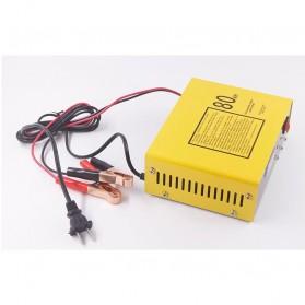 UrbanRoad Charger Aki Mobil Motor Lead Acid 140W 6V/12V 80AH - MF1 - Yellow - 4