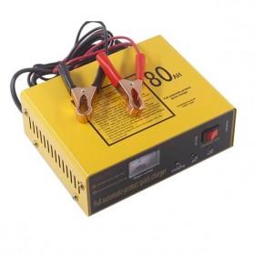 UrbanRoad Charger Aki Mobil Motor Lead Acid 140W 6V/12V 80AH - MF1 - Yellow - 2
