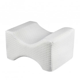 Beautrip Bantal Portable Memory Foam Knee Pillow Side Sleepers - HM022 - White