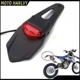 Lampu Sepeda / Bicycle Light - Polisport Sepeda Belakang Motor Tail Light Rear Fender for KTM CR EXC WRF 250 400 426 450 - Black