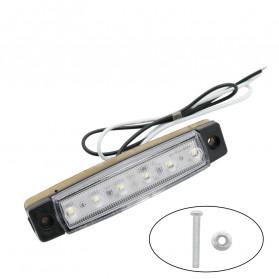 Bakuis Lampu Rambu Truck Mobil LED Marker Indicator Light 12V 10PCS - Y-S21 - Yellow - 2