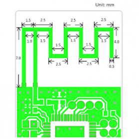 NYGACN Dashboard Electric Scooter Circuit Board for Xiaomi Mijia M365 - BT365 - Black - 2