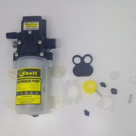 Shell Pompa Air High Pressure Diaphragm Pump Car Washing Water - HZLZ-4451 - Transparent