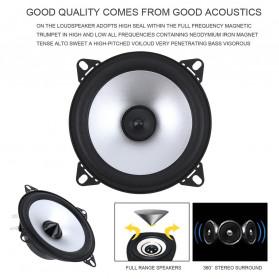 LaBo Speaker Subwoofer Mobil HiFi 4 Inch 60W 2 PCS - LB-PS1401D - Black - 2