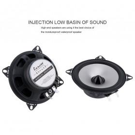 LaBo Speaker Subwoofer Mobil HiFi 4 Inch 60W 2 PCS - LB-PS1401D - Black - 4