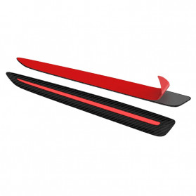WRC Stiker Bumper Mobil Scratch Protection Decoration Strips - 3R-2144 - Black - 2