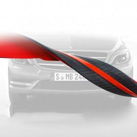 WRC Stiker Bumper Mobil Scratch Protection Decoration Strips - 3R-2144 - Black - 6