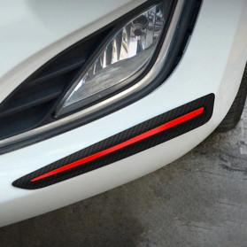 WRC Stiker Bumper Mobil Scratch Protection Decoration Strips - 3R-2144 - Black - 7