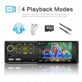 PHYEE Tape Audio Mobil Media Player MP5 Bluetooth Touch Screen 4.1 Inch - Z1 - 4