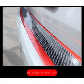 Karlor Stiker Vinyl Mobil Rubber Strip Car Bumper Edge Guard 5 x 100 CM - YSB190 - Red/Black - 11