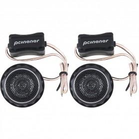 PCINENER Speaker Mini Dome Tweeter Loudspeaker Mobil HiFi 150W 2 PCS - TS-T280 - Black - 3