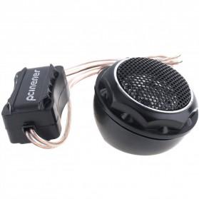 PCINENER Speaker Mini Dome Tweeter Loudspeaker Mobil HiFi 150W 2 PCS - TS-T280 - Black - 6