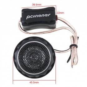 PCINENER Speaker Mini Dome Tweeter Loudspeaker Mobil HiFi 150W 2 PCS - TS-T280 - Black - 11