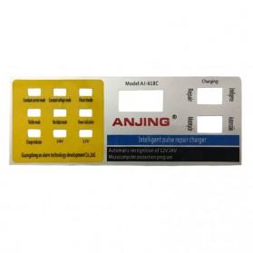 ANJING Charger Aki Mobil Motor 130W 12V/24V 200AH + LCD - AJ-618C - Yellow - 5