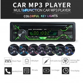 LaBo Tape Audio Mobil Bluetooth Radio Stereo Car MP3 Player - BT-M3PY - Black