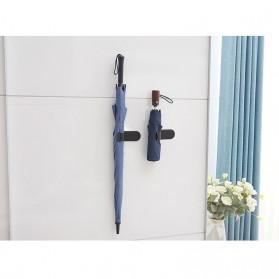 CHIZIYO Gantungan Organizer Barang Payung Umbrella Hook Holder Self-adhesive - A220 - Black - 4