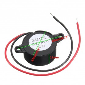 CarHave Alarm Loud Speaker Mobil Electric Buzzer Car Horn Police Sirine - Car324 - Black - 3