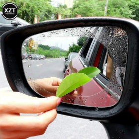 XZT Pelindung Kaca Spion Mobil Protective Anti Fog Rainproof Film 95x95mm 2PCS - 2414 - 3