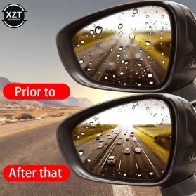 XZT Pelindung Kaca Spion Mobil Protective Anti Fog Rainproof Film 95x95mm 2PCS - 2414 - 5