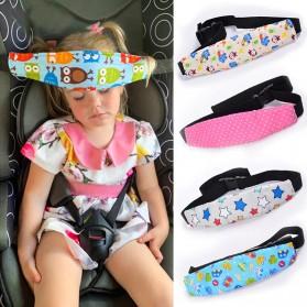 Houseeker Peyangga Kepala Anak Bayi Head Strap Support Car Seat - SY107Z - Mix Color - 1