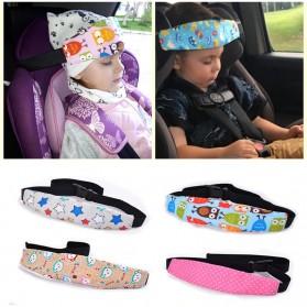 Houseeker Peyangga Kepala Anak Bayi Head Strap Support Car Seat - SY107Z - Mix Color - 4