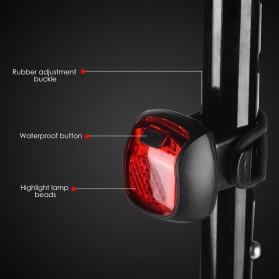 Deemount Lampu Sepeda LED Taillight 20 Lumens - DC-116 - Black - 7