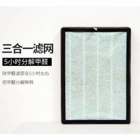 JIAQUAN Pembersih Ion Udara Air Purifier Cleaner PM2.5 - SL-661-2 - White - 4