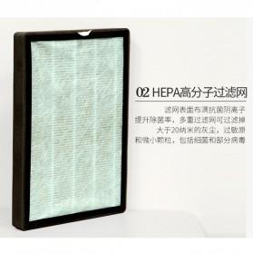 JIAQUAN Pembersih Ion Udara Air Purifier Cleaner PM2.5 - SL-661-2 - White - 5
