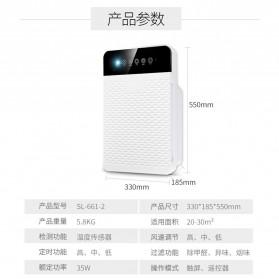 JIAQUAN Pembersih Ion Udara Air Purifier Cleaner PM2.5 - SL-661-2 - White - 8