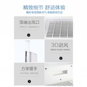 JIAQUAN Pembersih Ion Udara Air Purifier Cleaner PM2.5 - K1-1 - White - 5