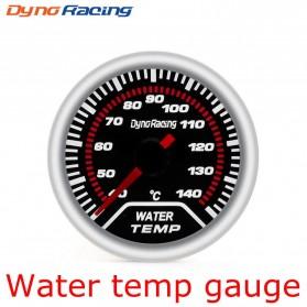 Dynoracing Dekorasi Mobil Car Otomotif Decoration Water Temperature Gauge - Q195 - Black