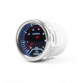 Dynoracing Dekorasi Mobil Car Otomotif Decoration Boost Gauge PSI - Q195 - Black - 4