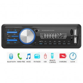Taffware Tape Audio Mobil MP3 Player Bluetooth Wireless Receiver 12V - MP3-530 - Black