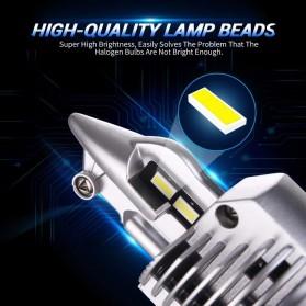 Fighter Lampu Mobil LED Headlight 16000LM 80W 6000K H4 12V 2 PCS - Silver - 8
